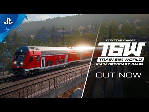 Train Sims World: Main Spessart Bahn - Out Now | PS4 - Thời lượng: 64 giây.