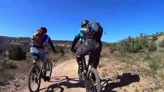 If you haven't ridden the Kokopelli Trail, this will give you a taste of what you're missing.  I rode with Bikerpelli Sports - an excellent outfit that takes care of just about everything except pedalling and setting up your tent.