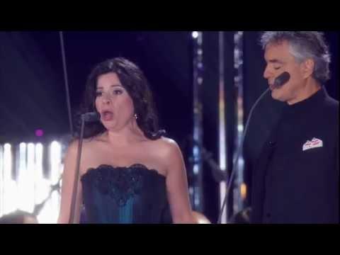 Tekst piosenki Andrea Bocelli - Vicino a te s'acqueta  feat Maria Martinez po polsku