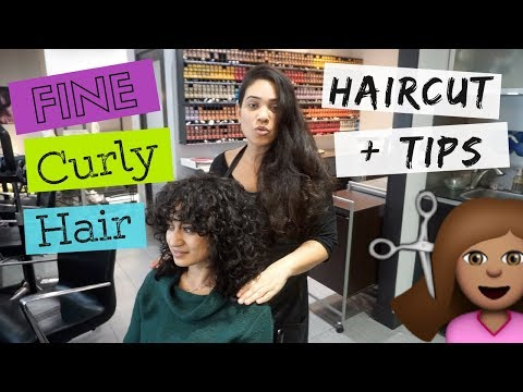 Curly hairstyles - THIN + FINE Curly Haircut and Tips from my Hairstylist  All Things Ada