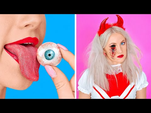 SPOOKY HALLOWEEN DIY IDEAS || Last Minute Halloween Costumes And Crafts by 123 GO!