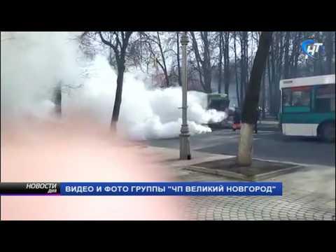 В минувшую субботу зафиксировано сразу два происшествия с участием автобусов