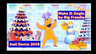 Just Dance 2018 Make It Jingle by Big FreediaBrief Summary: Just Dance is back with Just Dance 2018!  This time we dance to Make it Jingle by Big Freedia.  The raindeers are here and Christmas is near!  What do the moves look like in this routine?  Watch and find out!  Please like comment and subscribe!  Thank you for watching!