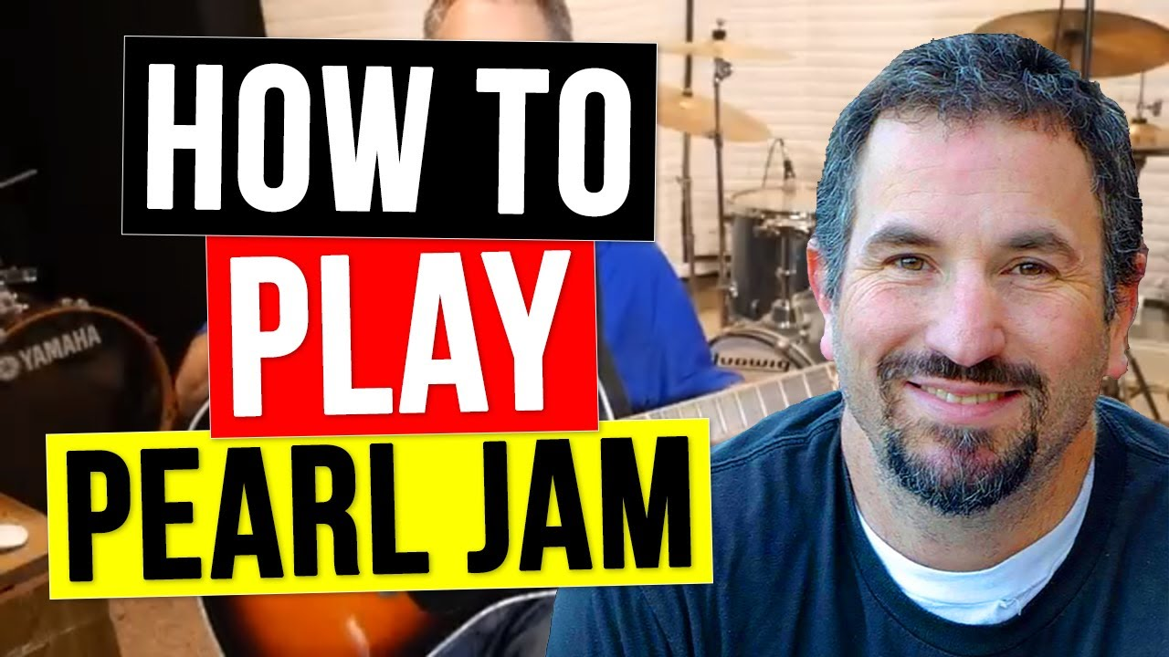 How to Play Alive on Acoustic Guitar | Pearl Jam Unplugged