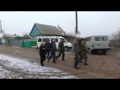 В с. Куранжа, где родился атаман Семёнов. 12.10.12 г. (видео)