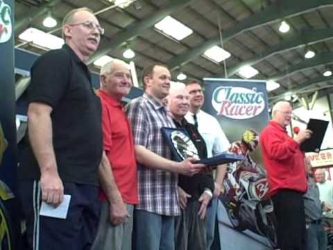 From The 30th Carole Nash International Classic Motorcycle Show.