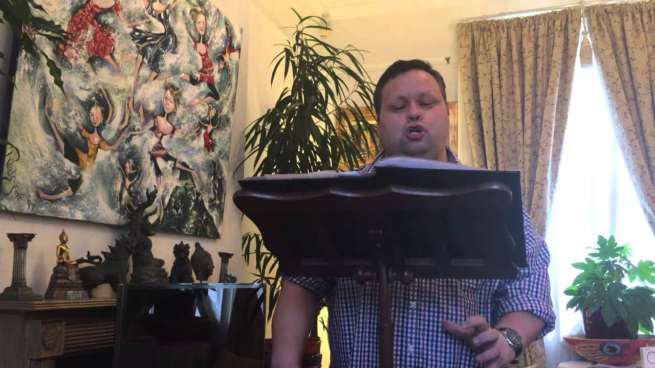 Paul Potts Lasciami, Ch'io Respiri - Tosti March 2015