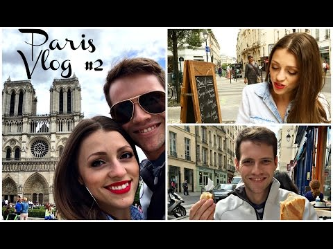 Walking the Streets of Paris & Notre Dame Cathedral