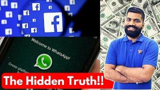 Video How do Facebook and Whatsapp Make Money? The Hidden Truth? MP3, 3GP, MP4, WEBM, AVI, FLV November 2017