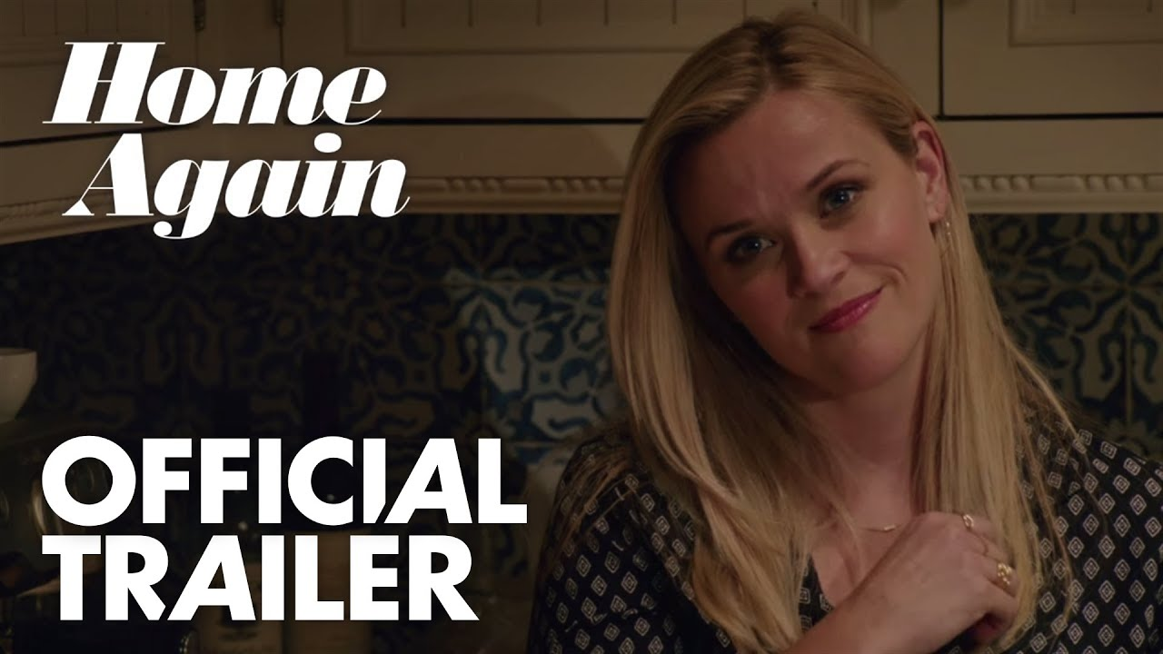 Reese Witherspoon in Romantic Comedy 'Home Again' (Trailer) with Michael Sheen & Candice Bergen
