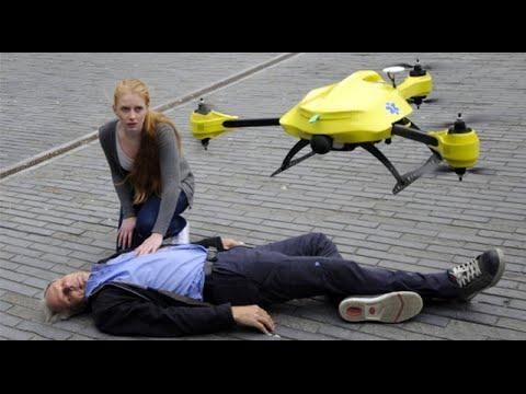 arriva il drone salvavita con defibrillatore! idea grandiosa!