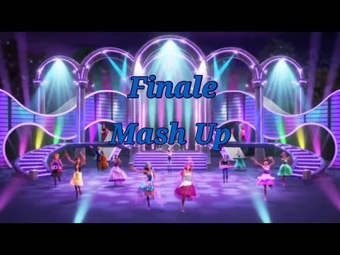Barbie Rock N Royals Finale Mash Up Music Video