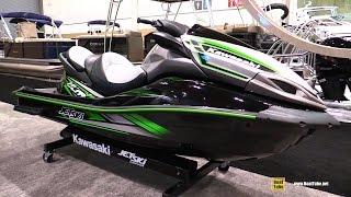 10. 2016 Kawasaki Ultra LX Jet Ski - Walkaround - 2016 Toronto Boat Show