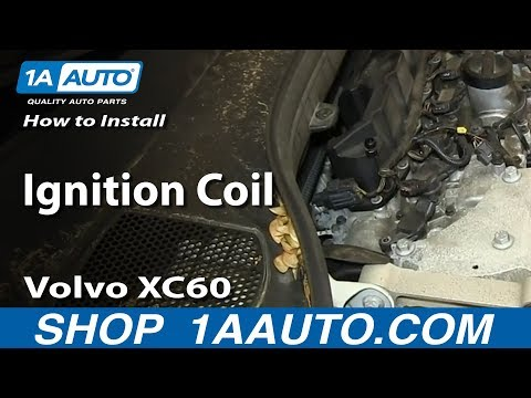 How To Install Replace Ignition Coil Volvo XC60