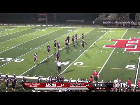 Boys Football. IH vs New Richmond. 8-29-14. Second Half