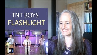 Video Voice Teacher Reaction to TNT Boys Flashlight | Vocal Coach Reacts MP3, 3GP, MP4, WEBM, AVI, FLV April 2019