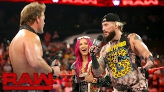 The Boss and The Realest Guy in the Room have a war of words with Charlotte and Chris Jericho. More ACTION on WWE NETWORK : http://wwenetwork.com Subscribe t...