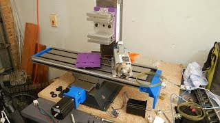 Optimum BF20L CNC Conversion with a 3D Printer