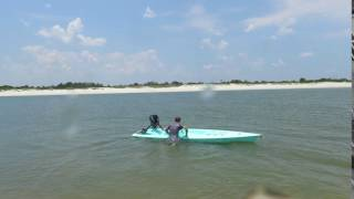 Solo Skiff water entry