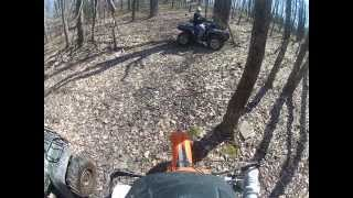 7. KTM XC-W 250 Trail Ride
