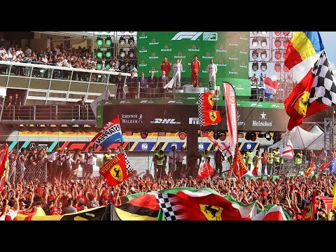 Charles Leclerc's Monza Win With The Tifosi | 2019 Italian Grand Prix | Fan Films