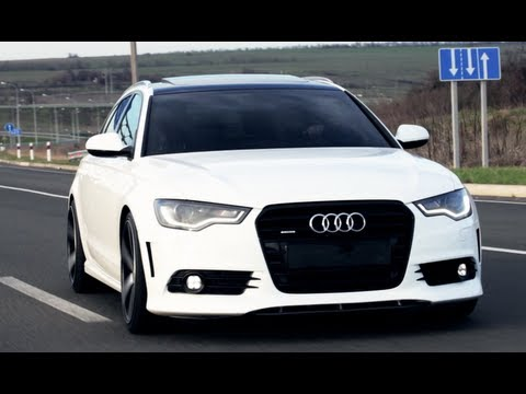 0 Wagon Pr0n Wednesday: Audi A6 Avant Looks Delish on Vossen Wheels [Video]