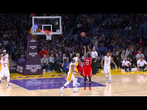James Harden Scores 37 Points in Win Against Lakers