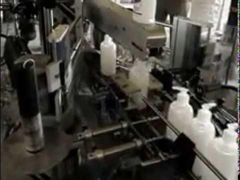 Çift Taraflı Şişe Etiketleme Makinası