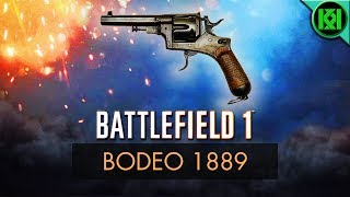 Battlefield 1 Weapons (BF1): Here's my Bodeo 1889 Guide/Review, including info, tips for using it best, gun stats + Bodeo 1889 Revolver Gameplay. (Battlefield 1 Bodeo 1889 Gameplay shown) BF1 PS4 Pro GameplayBattlefield 1: Bodeo 1889 Review (Weapon Guide)  BF1 Weapons + Guns  BF1 GameplayStats Reference: http://symthic.com/The Bodeo 1889 (Revolver) can be equipped on a scout loadout as a secondary. (PS4 Pro BF1 Gameplay)Battlefield 1 Video GameFacebook:  https://www.facebook.com/kriticalkrisTwitter:  https://twitter.com/KriticalKrisCheck out my channel: KriticalKris Channel : https://www.youtube.com/channel/UC5d9SQiZzg7qFcqF0xTOFXQ/feedhttps://youtu.be/y03Lrzc2oCI