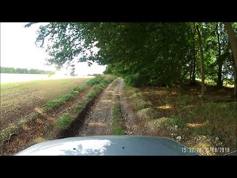 Green Lane Driving In A Dacia Duster-  Manningford, Wiltshire