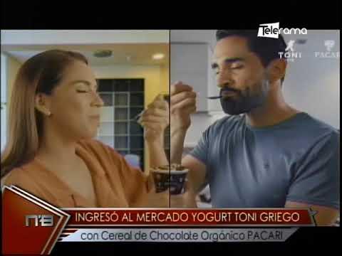 Ingresó al mercado Yogurt Toni Griego con cereal de chocolates orgánicos PACARI