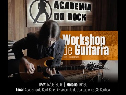 Workshop de Guitarra com o prof. Luís Follmann