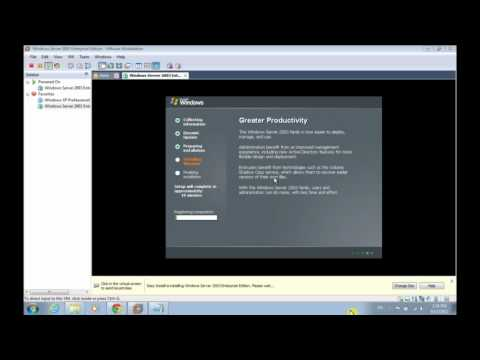 Cài đặt windows server 2003