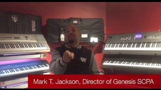 Mark T. Jackson & Genesis SCPA gives piano away during Spring Recital!