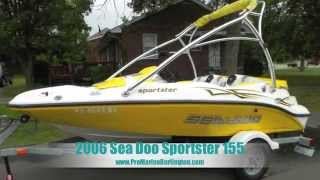 4. 2006 Sea Doo Sportster 155 FOR SALE!!!
