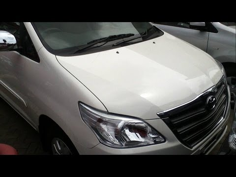 2013 Toyota Kijang Innova 2.5 G Facelift. Start Up & In Depth Review