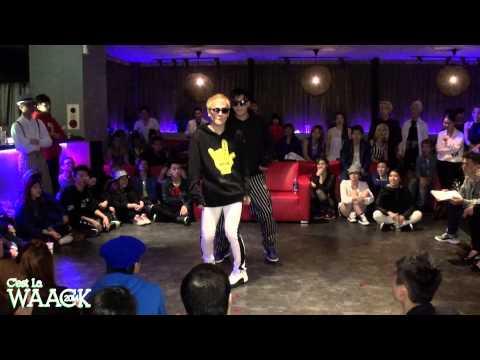 超騷包舞蹈~好笑 Akuma Diva & Bo Bo (Kaohsiung)