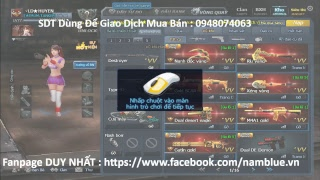 FANPAGE mua bán acc : https://www.facebook.com/namblue.vnFaceBook : https://www.facebook.com/namblue1812Liên Hệ Tài Trợ , Quảng Cáo : Mail : nam10kt1d@gmail.comGroup Event : https://www.facebook.com/groups/1719339671632106/