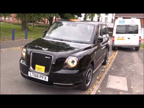Liverpool's First Ever State Of The Art Electric Black Cab