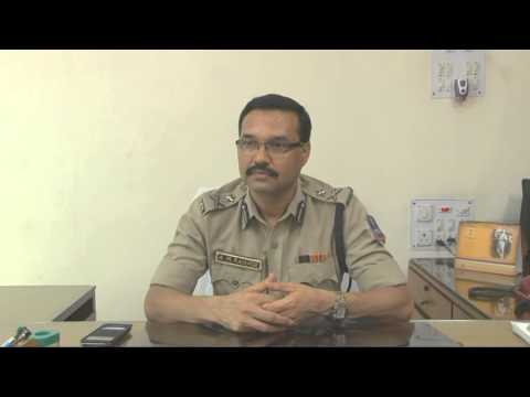 Interview of Sri Ajey Mukund Ranade, IPS, Commissioner of Police, Howrah to Samachar (видео)