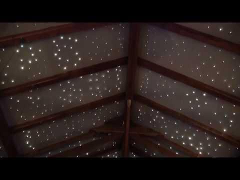Oświetlenie do poddasza, gwiezdne niebo na poddaszu
