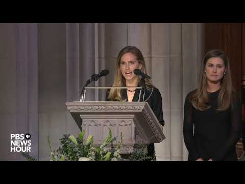 WATCH: Lauren Bush Lauren and Ashley Walker Bush deliver first reading at George H.W. Bush funeral