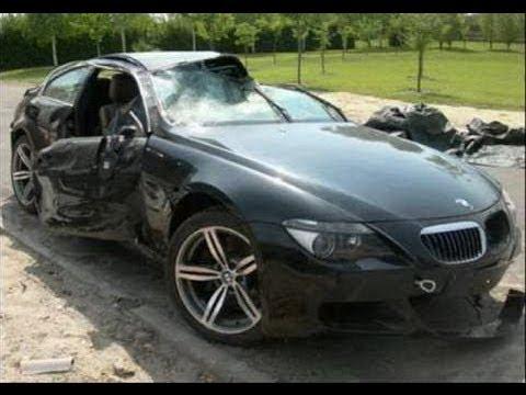 مجموعة حوادث لسيارات بي ام دبليو