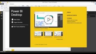 Instalação do PowerBI Desktop e primeira visualização da interface.Nos próximos vídeos mostrarei mais recursos interessantes da ferramenta.