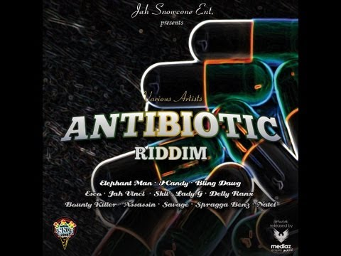 Antibiotic riddim - September 2012 - Jah Snow Cone