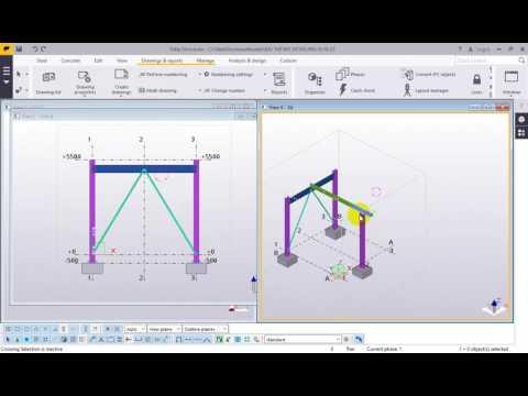 Đào tạo Tekla Structures 2016 - Phần 3 Bản vẽ