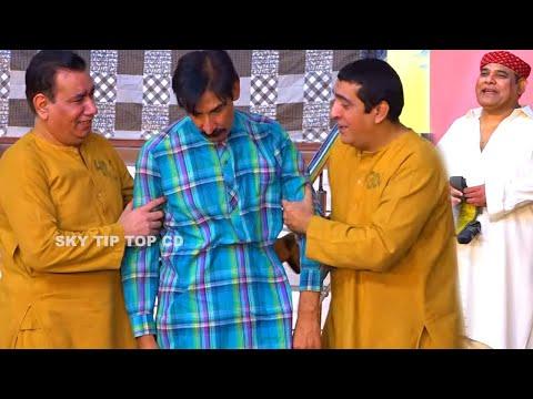 Zafri Khan and Nasir Chinyoti   Agha Majid   Iftikhar Thakur   Stage Drama 2020   Ghare Di Machi