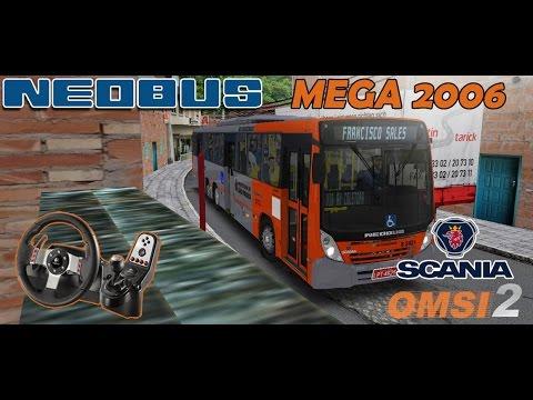 OMSI 2: Neobus Mega 2006 Scania + Mapa Estrela Dalva + Download