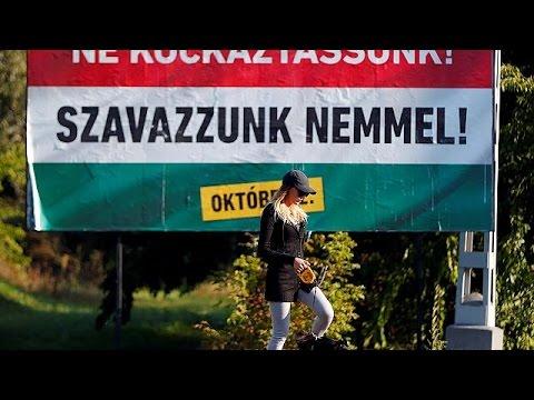 Ουγγαρία: Δημοψήφισμα για τη μετεγκατάσταση προσφύγων