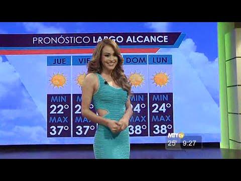 La Miss Meteo messicana accende il web